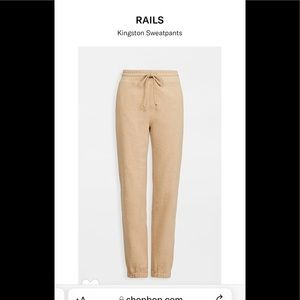 Rails Jogger Sweatpants
